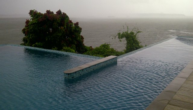 All sea facing rooms on a cliff in the most premium location in Goa
