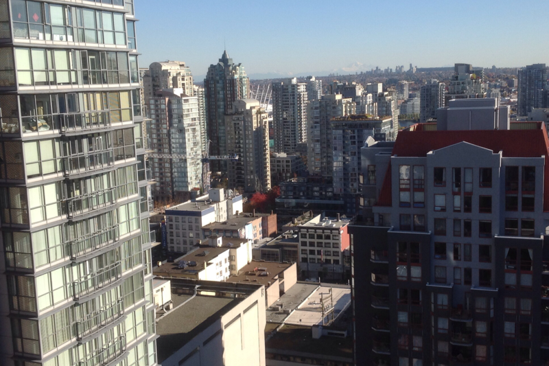 Luxury apartment located in downtown Vancouver