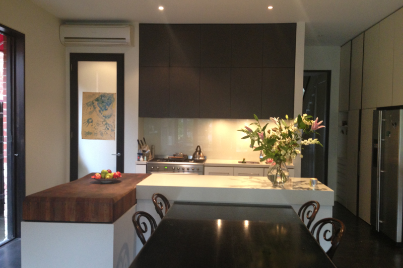 Renovated 2 story Victorian terrace house close to Melbournes CBD