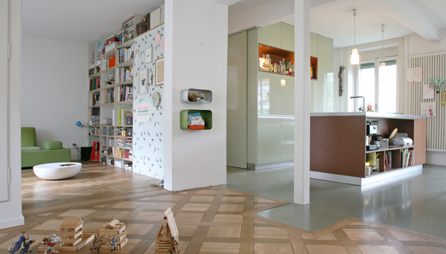 Charming, family-friendly city apartment with garden
